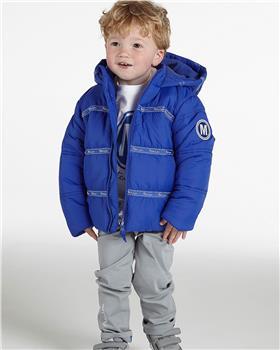 Mitch & Son boys padded jacket MS21501 St George Blue