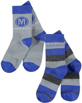 Mitch & Son boys socks MS21517 Stafford Grey