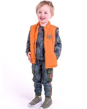 Mitch & Son boys padded gilet MS21602 Orange Maryhill