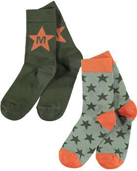 Mitch & Son boys socks MS21614 Milnpark Khaki