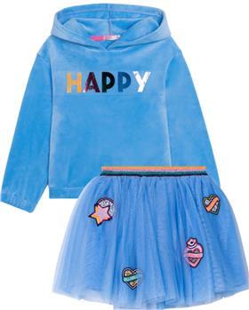 Billieblush girls hoody sweatshirt & skirt U15913-13288