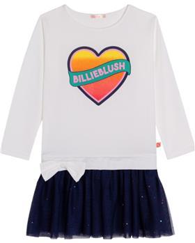 Billieblush girls dress U12676-021 Ivory 1