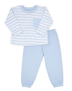 Bigger Rapife boys striped jogsuit 4854-121 blue