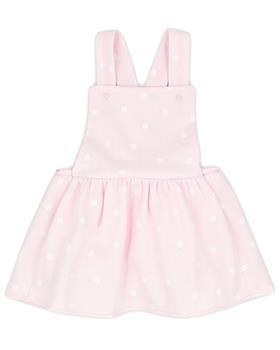 Rapife girls ruffle  body & dungaree pinafore 902-5285-121 pink