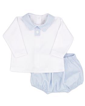 Rapife boys long sleeve short set 4914-121 blue