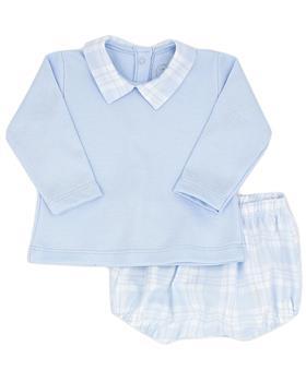 Rapife boys  long sleeve short set 5014-121 blue