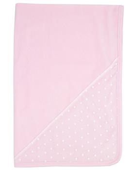 Rapife baby girls velour blanket 6033-121 pink