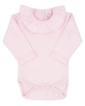 Rapife baby girls frill neck body suit 902-121 pink