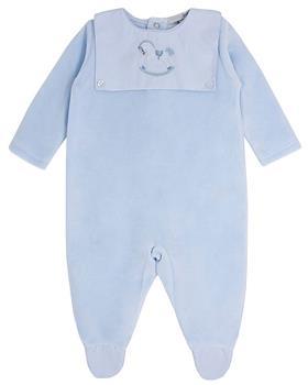 Bluesbaby boys rocking horse sleepsuit BB0150 blue