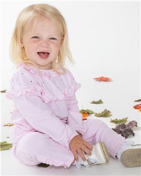 Bluesbaby girls diamante top & pants BB0223-121 pink