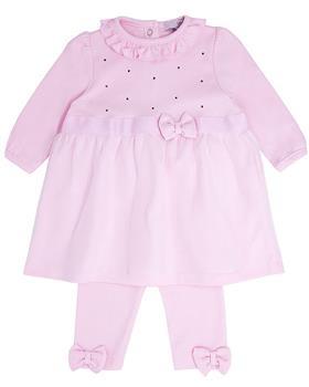 Bluesbaby baby girls dress & legging BB0225-121 pink