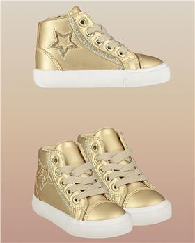 Little A Dee high top trainers LW21999 Star Gold