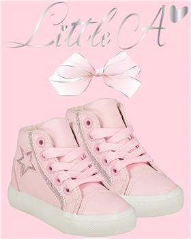 Little A Dee high top LW21999 Star pink