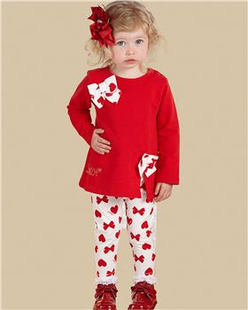 Little A Dee tunic top & leggings LW21511 Brianna