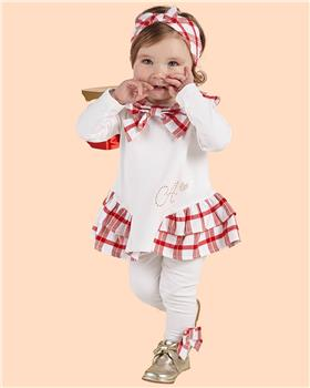 Little A Dee check legging set LW21512 Brielle