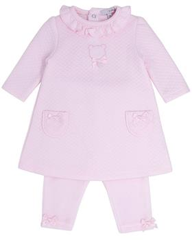 Bluesbaby baby girls dress & legging BB0233-121 pink