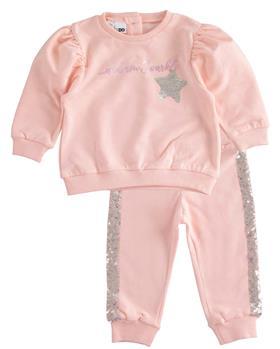 I Do girls glitter star jogsuit 43559-021 pink