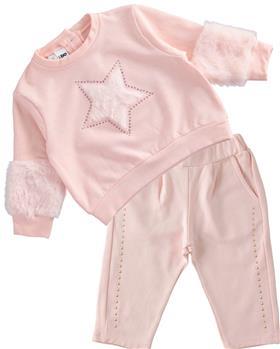 I Do girls jogsuit 43632-43652-021 pink
