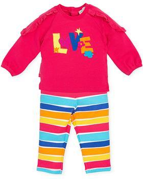 Agatha Ruiz girls LOVE top & stripe pants 3024-021