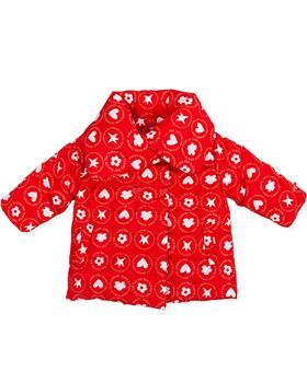 Agatha Ruiz girls  red puffa coat 3723-021