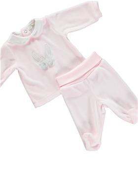 Deolinda baby girls 2 piece set DB121607 pink