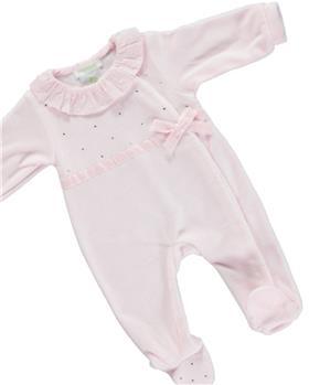 Deolinda baby girls babygrow DB121325 pink