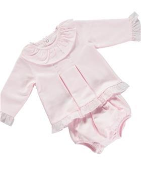 Deolinda baby girls 2 piece set DB121529 pink