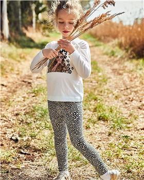 Mayoral girls top & leggings 4749-021 Leopard