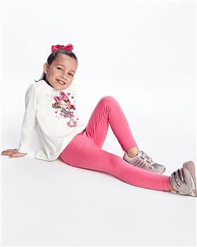 Mayoral girls top & leggings 4746-021 Cerise
