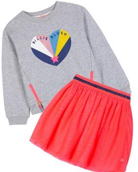 Billieblush girls sweatshirt & skirt U15916-13287