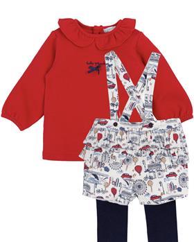 Tutto Piccolo girls blouse & shorts 2127-2327-021