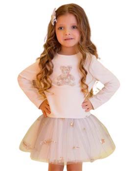 Daga girls sequin teddy bear dress M8578