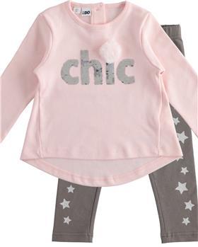 I Do girls long sleeve top & legging 43633-3653-021