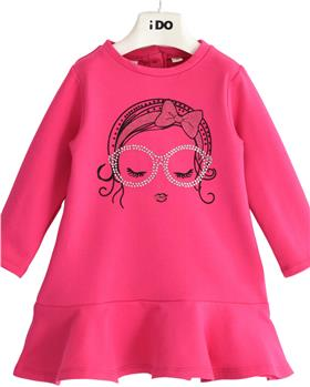 I Do girls winter fuscia dress 43599-021