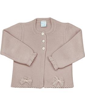 Granlei girls knittedcardigan 2-576-121 Dusky pink
