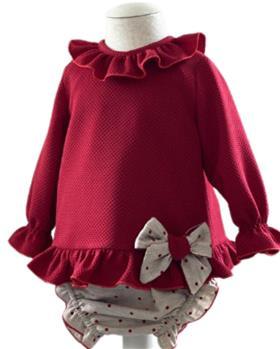 Basmarti girls winter tunic & panties 21681-121