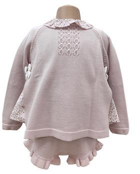 Granlei girls blouse jumper & short 2-103-105-110 pink
