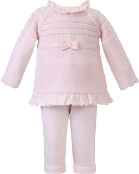 Sarah Louise girls 2 piece set 008156 pink