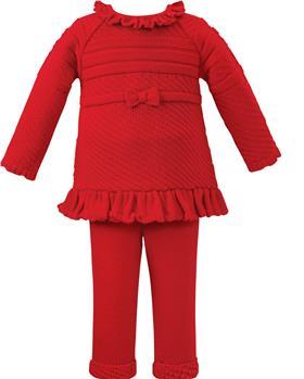 Sarah Louise girls 2 piece set 008156 red