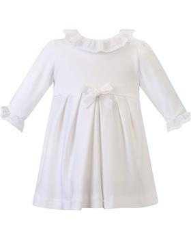 Sarah Louise girls dress P3501 Ivory