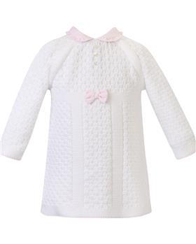 Dani baby girls knitted dress D09562 IV-PK