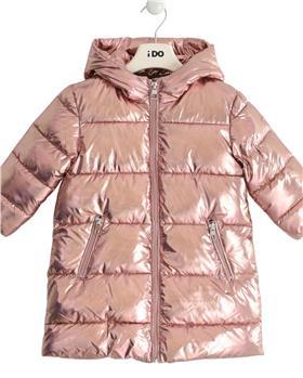 Rose gold I Do girls winter padded coat 43677-021