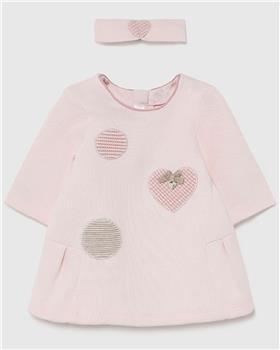Mayoral baby girls dress 2802-021 pink