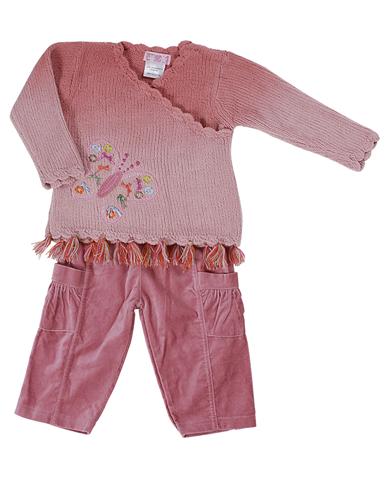 Everyday Kids Girls Jumper & Trouser 5076