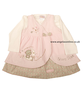 Everyday Kids Baby Girl pinafore and top 7017