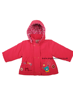 Everyday Kids Girls Pink Jacket 7081b