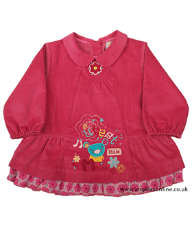 Everyday Kids Baby Girls Pink Corduroy Dress 7082b