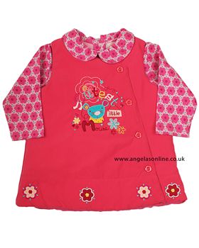 Everyday Kids Girls 2 Piece Pinafore | Top 7083b