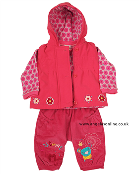 Everyday Kids Girls 3 Piece Outfit 7084b