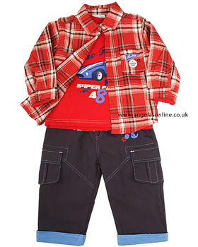 Everyday Kids Baby Boys 3 piece Outfit 7101